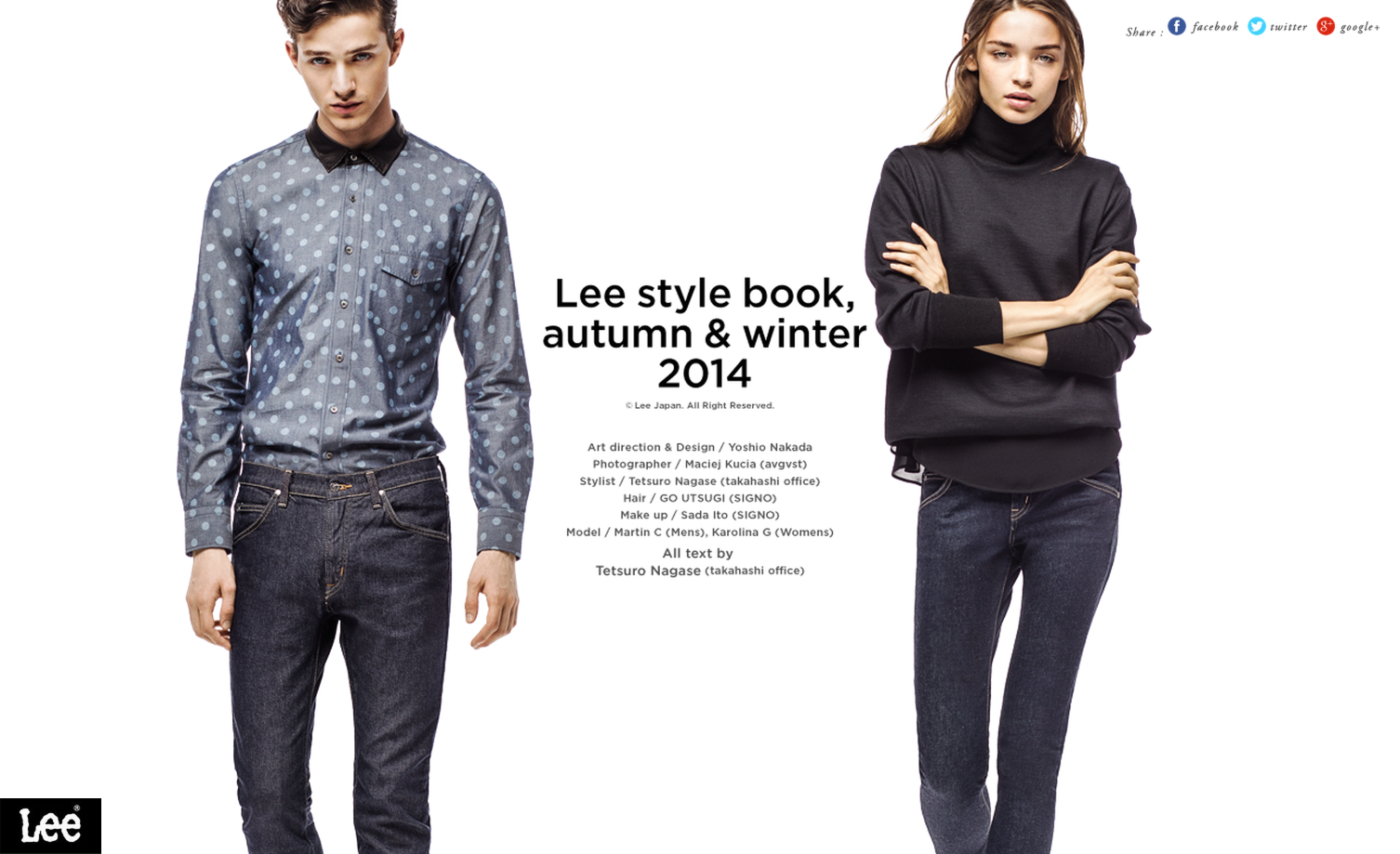 Lee style book  autumn   winter 2014