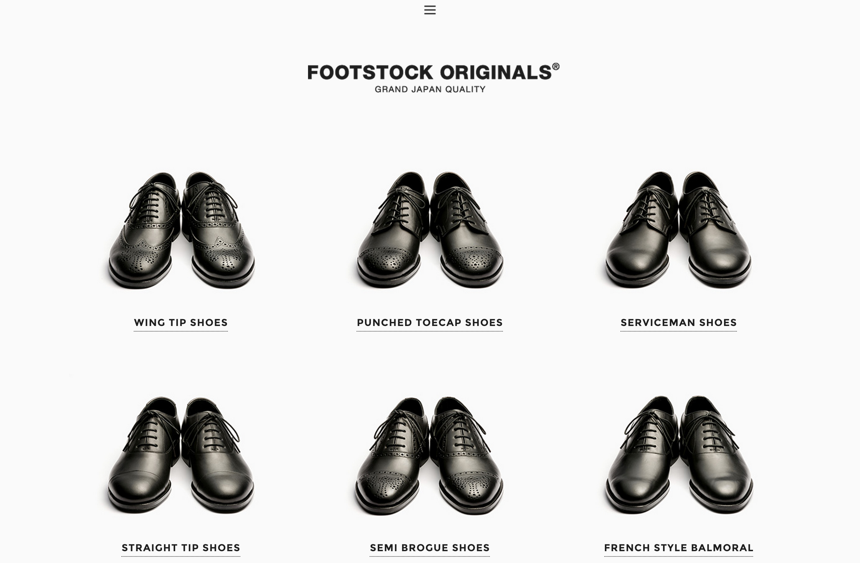 PRODUCTS AND PURCHASES   FOOTSTOCK ORIGINALS